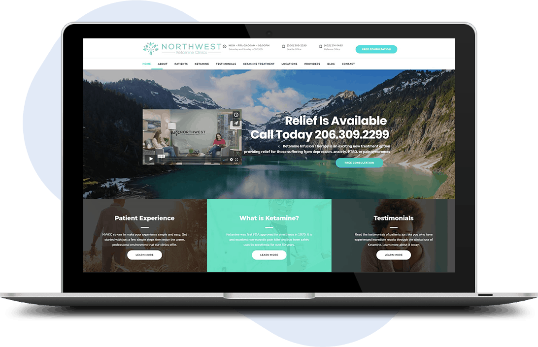 website-design-for-cryotherapy-centers